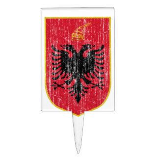 Escudo de armas de Albania Figuras Para Tartas