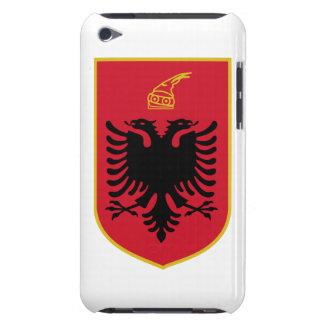 Escudo de armas de Albania iPod Touch Case-Mate Fundas