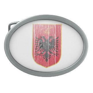 Escudo de armas de Albania Hebillas De Cinturón Ovales
