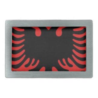 Escudo de armas de Albania Hebilla De Cinturón Rectangular