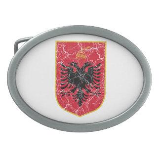 Escudo de armas de Albania Hebillas De Cinturon