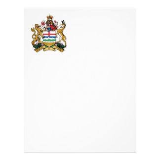 Escudo de armas de Alberta Plantillas De Membrete