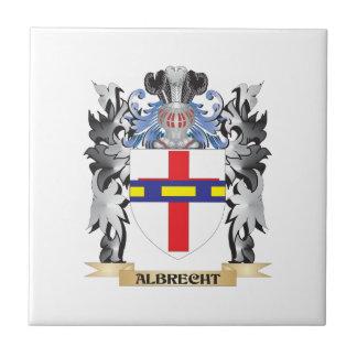 Escudo de armas de Albrecht - escudo de la familia Azulejo Cuadrado Pequeño