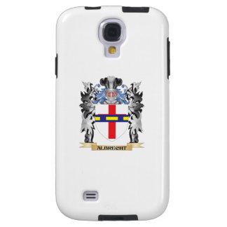 Escudo de armas de Albrecht - escudo de la familia Funda Para Galaxy S4