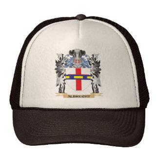 Escudo de armas de Albrecht - escudo de la familia Gorros Bordados