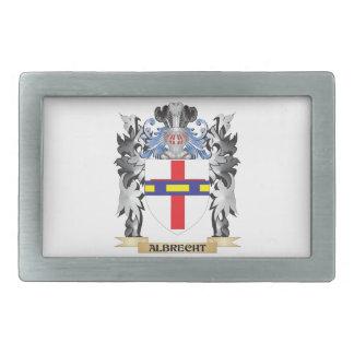 Escudo de armas de Albrecht - escudo de la familia Hebillas De Cinturon Rectangulares