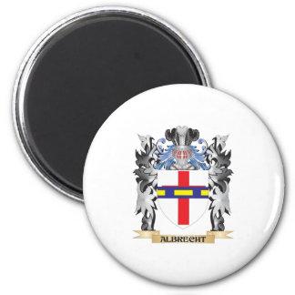 Escudo de armas de Albrecht - escudo de la familia Imán Redondo 5 Cm