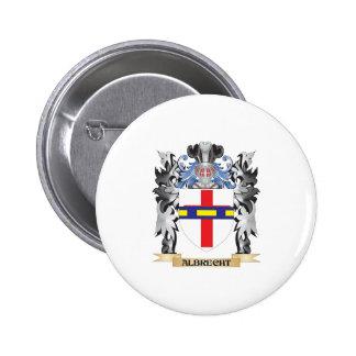 Escudo de armas de Albrecht - escudo de la familia Pin Redondo 5 Cm