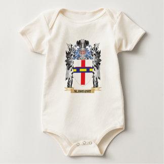 Escudo de armas de Albrecht - escudo de la familia Traje De Bebé