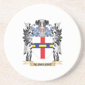 Escudo de armas de Albrecht - escudo de la familia Posavasos De Arenisca