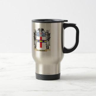 Escudo de armas de Albrecht - escudo de la familia Taza De Viaje De Acero Inoxidable