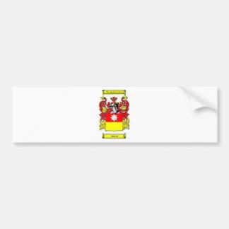 Escudo de armas de Albrecht Pegatina Para Auto