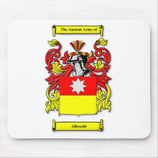Escudo de armas de Albrecht Tapetes De Ratón
