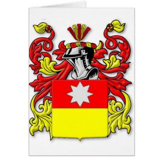 Escudo de armas de Albrecht Tarjeta De Felicitación