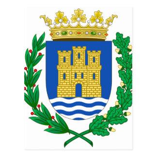 Escudo de armas de Alcalá de Henares (España) Postales