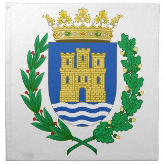 Escudo de armas de Alcalá de Henares (España) Servilleta De Papel