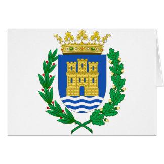 Escudo de armas de Alcalá de Henares (España) Tarjeta De Felicitación