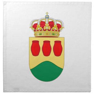 Escudo de armas de Alcorcón España Servilleta De Papel