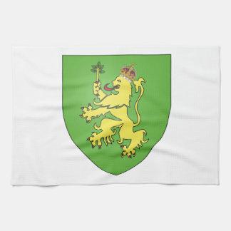 Escudo de armas de Alderney Toalla De Cocina
