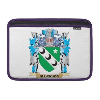 Escudo de armas de Alderson Fundas Macbook Air