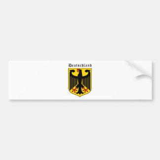 Escudo de armas de Alemania Pegatina Para Auto