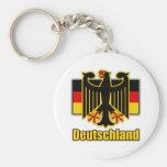 Escudo de armas de Alemania Llaveros Personalizados