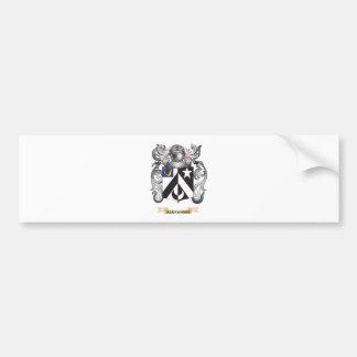 Escudo de armas de Alexander (escudo de la Pegatina Para Auto