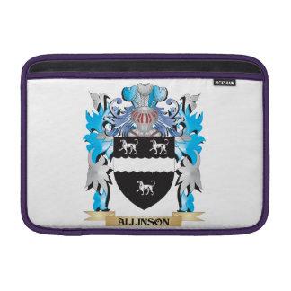 Escudo de armas de Allinson Fundas Para Macbook Air