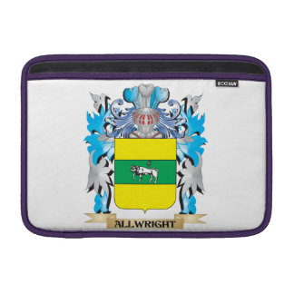 Escudo de armas de Allwright Funda MacBook
