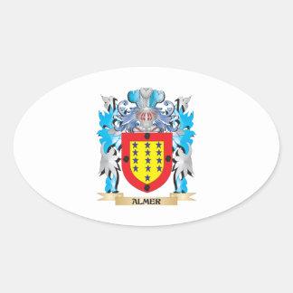 Escudo de armas de Almer Colcomanias De Oval