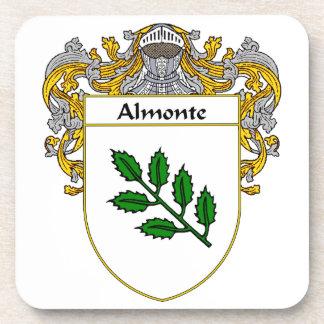 Escudo de armas de Almonte/escudo de la familia Posavasos De Bebida