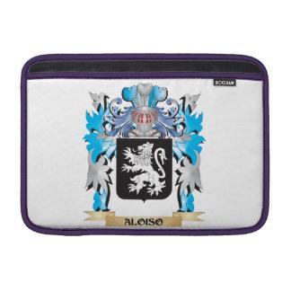 Escudo de armas de Aloiso Funda MacBook