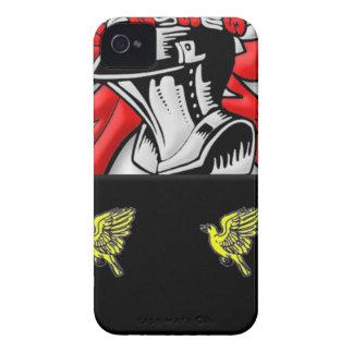 Escudo de armas de Alsop Case-Mate iPhone 4 Funda