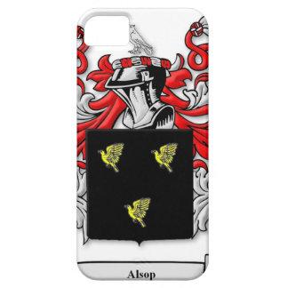 Escudo de armas de Alsop iPhone 5 Case-Mate Protector