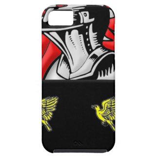 Escudo de armas de Alsop iPhone 5 Case-Mate Cárcasa