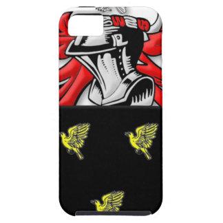 Escudo de armas de Alsop iPhone 5 Case-Mate Carcasa