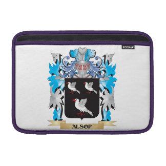 Escudo de armas de Alsop Funda Macbook Air