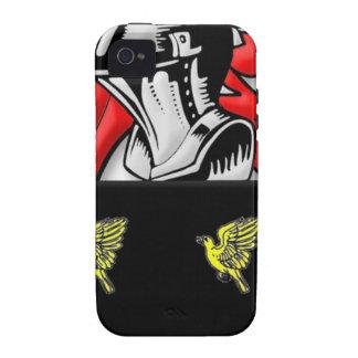 Escudo de armas de Alsop iPhone 4 Carcasa