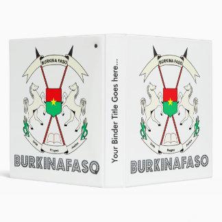 "Escudo de armas de alta calidad de Burkinafaso Carpeta 1"""