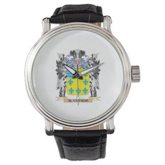 Escudo de armas de Alvarado - escudo de la familia Reloj De Mano