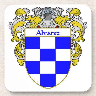 Escudo de armas de Alvarez/escudo de la familia: Posavaso