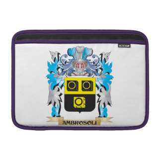Escudo de armas de Ambrosoli Funda Para Macbook Air