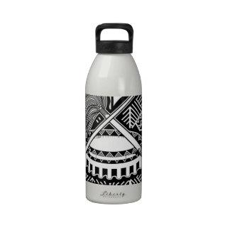 Escudo de armas de American Samoa Botella De Agua