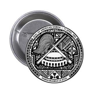 Escudo de armas de American Samoa Pins