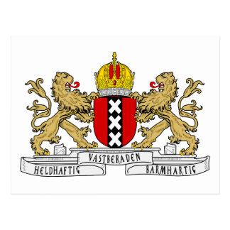 Escudo de armas de Amsterdam Postal