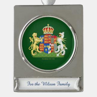 Escudo de armas de Ana Bolena Adornos Personalizables