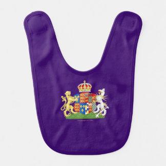 Escudo de armas de Ana Bolena Baberos De Bebé
