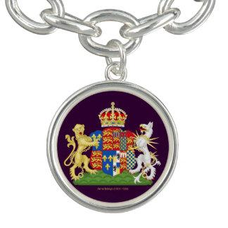 Escudo de armas de Ana Bolena Pulsera Con Dije