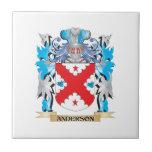 Escudo de armas de Anderson Azulejo Cerámica