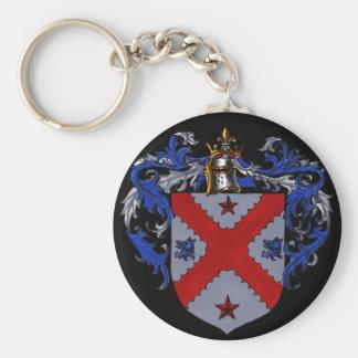 Escudo de armas de Anderson Llavero Redondo Tipo Pin